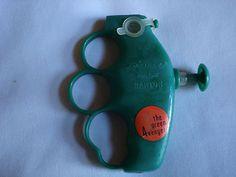 Green Avenger Water Squirt Gun - 1967