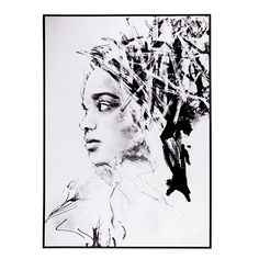 Edge Canvas Artwork Graphite Indie
