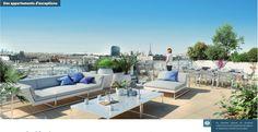 ISSY LES MOULINEAUX, 4ème étage : 4P 87m² + 113m² de terrasse