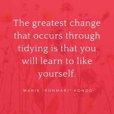 Konmari quote