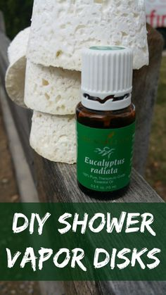 DIY shower vapor disks, copy-cat recipe of Vicks vapor disks. Great recipe, takes 10 minutes to prepare. All natural, uses essential oils Yl Essential Oils, Young Living Essential Oils, Vicks Vapor, Diy Shower, Shower Gel, Young Living Oils, Home Made Soap, Herbal Remedies, Natural Remedies