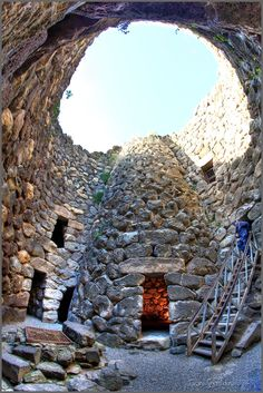 Su Nuraxi is a nuragic archaeological site in Barumini, Marmilla, Sardinia, Italy