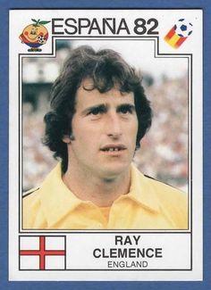 Ray Clemence - England - España 82 World Cup sticker 255 Football Stickers, Football Cards, Football Soccer, England Kit, Ray Clemence, England Football Players, Der Club, England National, International Football