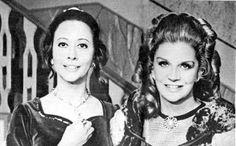 Fernanda Montenegro e Tonia Carreiro. Divas, Fernanda Montenegro, Vintage Tv, Beautiful People, Nostalgia, Cinema, Actresses, Actors, Woman