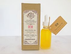 Our DEW Fine Facial Oil leaves your normal, dry, or mature skin as silken and supple as a rose petal touched by morning dew. This luxurious, lightweight oil absorbs rapidly and completely, and as one customer put it, feels like a second skin. Along with this serums lush texture and numerous anti-aging properties, we think youll love the honeyed floral fragrance, which is at once nostalgic and fresh.  DEW Fine Facial Oil contains:  > > MOROCCAN ARGAN OIL, 100% PURE, ORGANIC, COLD-PRESSED...