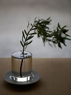 puddle flower vase by critiba, japan.
