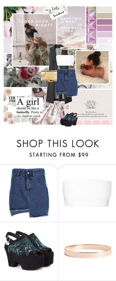 """""""We need to let it breathe"""" by aliicia21 ❤ liked on Polyvore featuring Balmain, Dries Van Noten, Lana Jewelry and Yves Saint Laurent"""