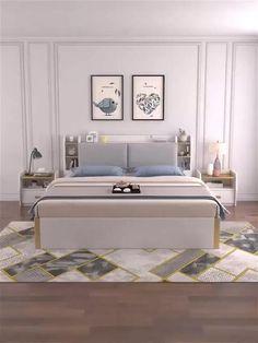 Bedroom Furniture Design, Home Room Design, Master Bedroom Design, Bed Furniture, Home Interior Design, Bedroom Designs, Bedroom With Sofa, Modern Furniture Design, Master Bedroom Minimalist