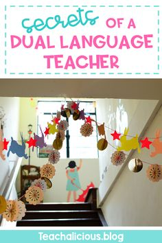 A Dual Language teachers shares her experiences teaching students in 1st grade at a Spanish immersion school.