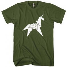 Origami Unicorn T-shirt