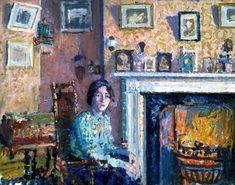 Spencer Gore 'Interior, Mornington Crescent' c.1910