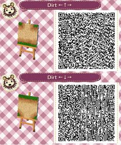 acnl dirt path SET#5- upper and lower intersection