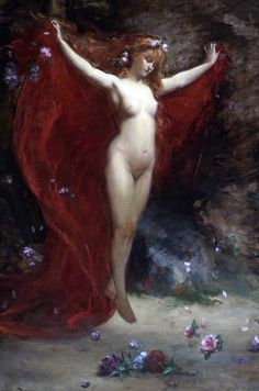 """Charles Emile Auguste Durand, """"Vision"""",1883."""