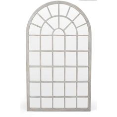 Amiel Arch Antiqued Leaner Mirror Accessories