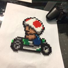 A Mario Kart Toad for my buddy.