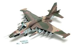 """Trumpeter 1/32 scale Su-25 """"Frogfoot-A"""" Trumpeter's big model kit is crammed with detail, from the 30mm GSh-2-30 and avionics bays in the nose to the impressive cockpit and extensive underwing ordnance."""