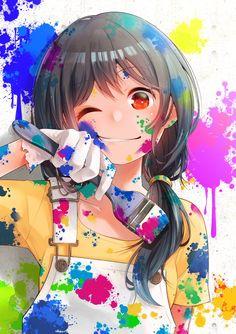 Yukishiro Nanako Weird Art, Manhwa, Manga Anime Girl, Kawaii Anime Girl, Anime Art, Anime Girls, Light Novel, Cute Anime Pics, Anime Love