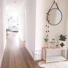 Wooden floors white walls