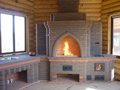 Gratar caramida - Modele si idei de gratare de caramida Bbq Grill, Grilling, Grill Design, Home Projects, Loft, Picnic, Exterior, Stoves, Brick Ovens