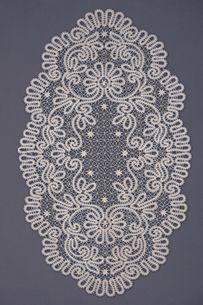 Скатерти   Снежинка: Вологодское кружево