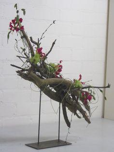 Inspirational WD u Wanddeko aus altem Holz Holzbrett nat rlich dekoriert mit einem Edelstahlherz und Glas zum bepflanzen Preis uAC Pinterest
