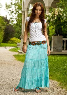 Hippie Röcke stylisch kombinieren