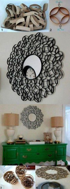 Awesome way to reuse toilet paper rolls