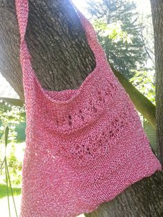 Cotton Summer Market Bag by StaceyLeighDesigns on Etsy, $15.00