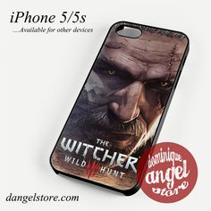 Geralt the witcher Phone case for iPhone 4/4s/5/5c/5s/6/6 plus