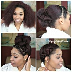 Natural Hair: 3 Quick Styles for a Blow-Out | Curly Nikki | Natural Hair Styles and Natural Hair Care