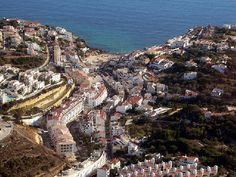 The beautiful town of Carvoeiro in Algarve, Portugal Portugal, Algarve, Holiday Destinations, Travel Destinations, Barbary Coast, Seaside Towns, Fishing Villages, Beautiful Beaches, Travel Guide