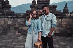 'Wherever you go, go with all your heart' *gk prnah pnya foto sbgus ini di borobudur • • • #fashion #ootd #fashiontrends #styleblogger…