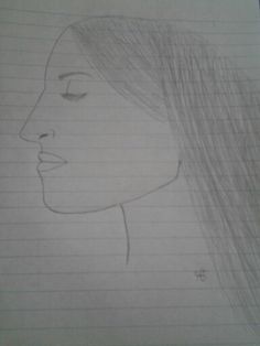 I drew this girl today