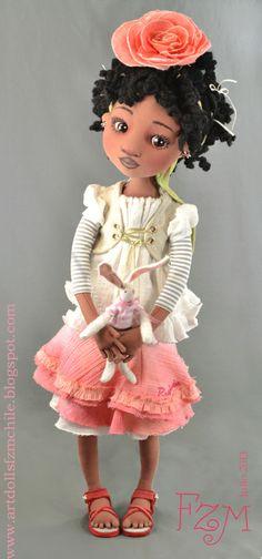 """Коллекция кукол, линии дизайна """"Цветы Куклы"""""""