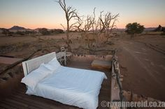 "Roxanne Reid elaborates on why she rates Little Kulala as one of the ""11 most romantic resorts to visit with your special someone""... #Namibia #Sossusvlei"