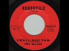 Small Sad Sam - Phil McLean 1961 (+playlist) One hit wonders