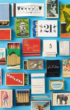 #matchbook and #matchbox collection To Order your Business' own branded #matchbooks GoTo: www.GetMatches.com or CALL 800.605.7331 TODAY!