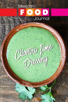 Homemade dressings are easier to prepare than you might expect. Our creamy cilantro lime dressing takes less than 10 minutes to prepare from start to finish including cleanup.Greek yogurt gives the dressing body, fresh cilantro, garlic, and lime the tangy taste. #MexicanFoodJournal #MexicanRecipe #MexicanFood Mild Salsa, Hot Salsa, Mexican Salsa Recipes, Homemade Dressing, Lime Dressing, Food Journal, Salad Dressing Recipes, Dairy Free, Gluten Free