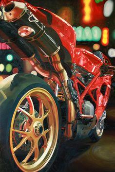 Ducati 1098 by Guenevere Schwien