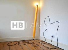 鉛筆ランプ