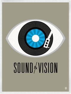 Sound & Vision Print by CDR