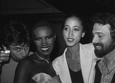Liza Minelli & Mikhail Baryshnikov in full action @ Studio 54 Flashback: somewhere during the nineteen seventies, Amber and me at the Mont. Grace Jones, Studio 54 Disco, Jones Fashion, Curtis Mayfield, Mikhail Baryshnikov, The Mont, Top Hairstyles, Black Models, Night Club