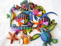 Fish art wall sculpture