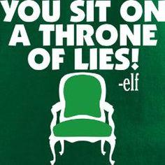 ...a throne of lies!