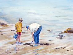 sue lynn cotton | Clam Diggers