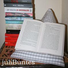 julibuntes: Lesekissen DIY