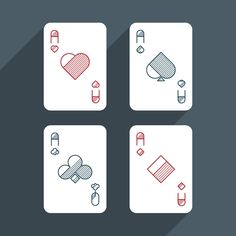 Playing Cards Set on Behance