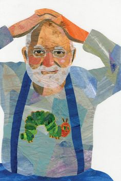 Eric Carle, born June 25, 1929, is the very talented author and illustrator of over 50 treasured children's books. His signature style of illustration is very distinct and recognizable to children and adults alike.