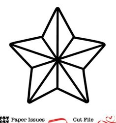 Geo Star Free Cut File
