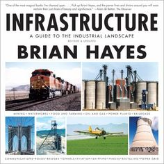 Lesley says: This is a comprehensive and easy to understand guide to the smokestacks, pipes and power stations of the modern industrial world. Great for kids and STEM students, but really for anyone who ever wondered 'What is that thing hanging from the power lines?' Infrastructure: A Guide to the Industrial Landscape by Brian Hayes.